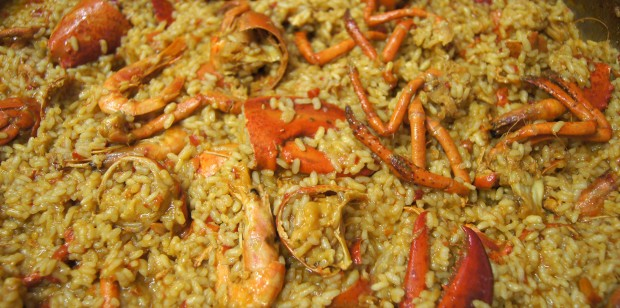Riz moelleux au homard