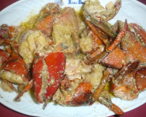 Sautéed lobster